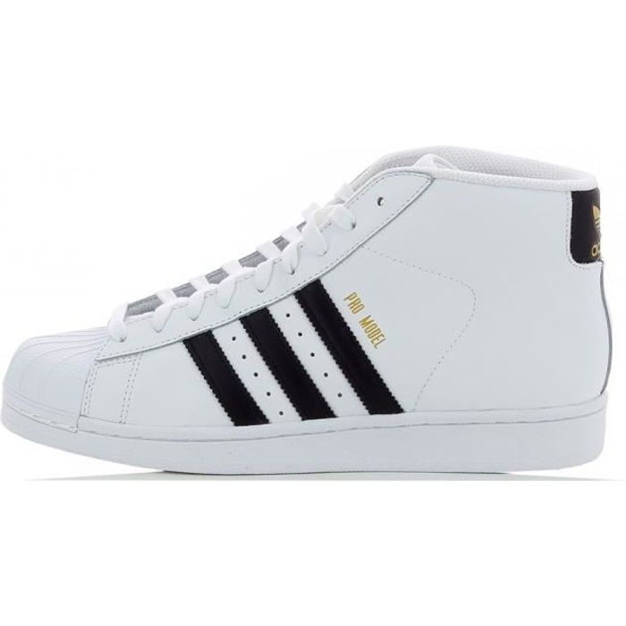 Achat Originals Blanc Pro Adidas S85956 Model Basket q1a7Yxwc
