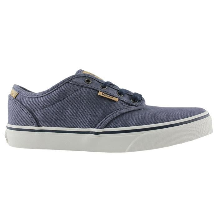 Basket Vans atwood deluxe washed twill kids Azul - Cdiscount ...