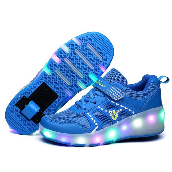 f4b9d154e1521b Chaussure lumineuse fille 34 - Achat / Vente pas cher