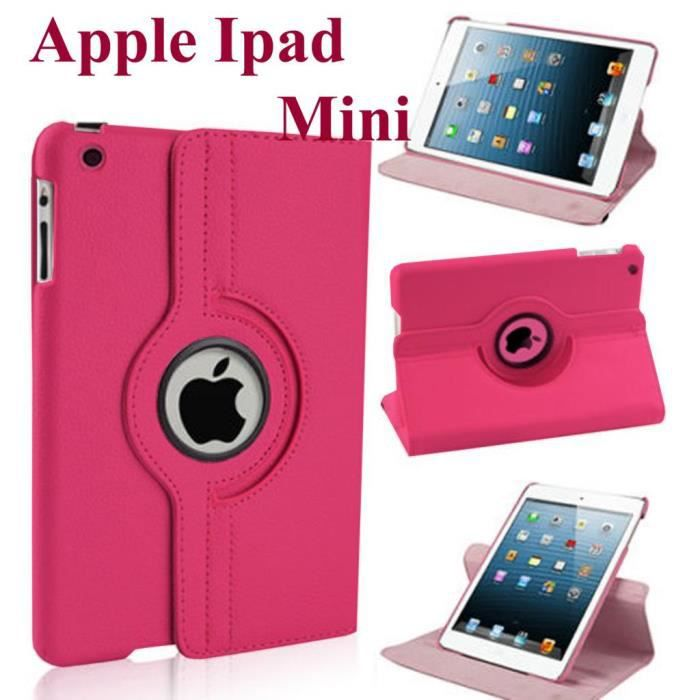 etui rotarif 360 rose apple ipad mini 2 ii achat housse chaussette pas cher avis et. Black Bedroom Furniture Sets. Home Design Ideas
