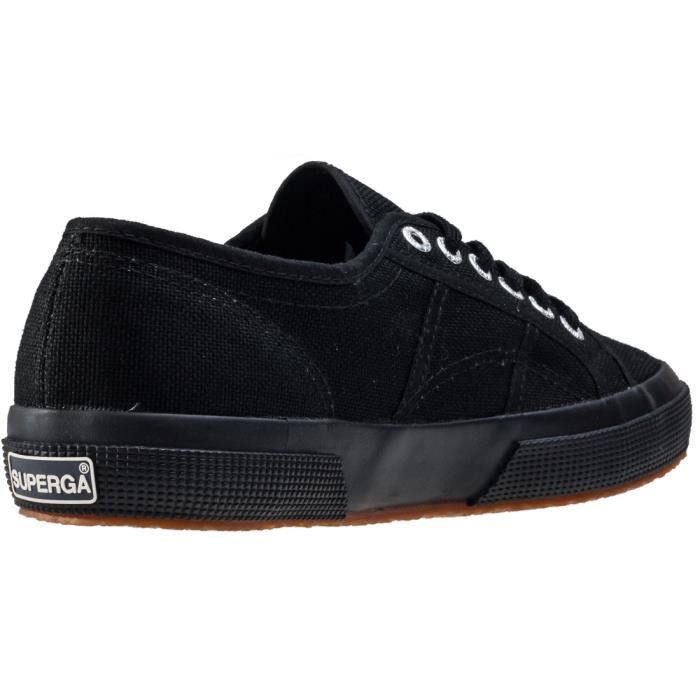 Superga 2750 Cotu Classic Femmes Baskets Black Black - 6 UK