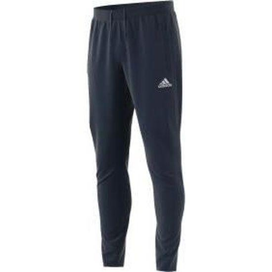 ADIDAS Pantalon d'entrainement Tiro 17 Homme Bleu et blanc