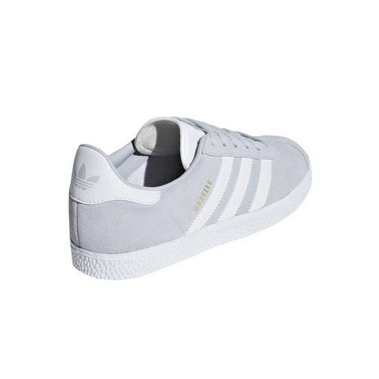 Baskets Junior adidas Originals GAZELLE (GS) Gris - Cdiscount ...