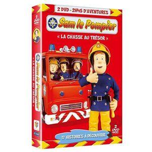 DVD DESSIN ANIMÉ DVD Sam le pompier : La chasse au trésor ; Appr...