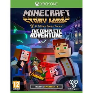 JEUX XBOX ONE Minecraft Story Mode Complete Edition Jeu Xbox One