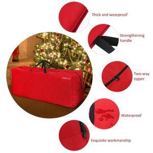 Anladia Housse de protection imperm/éable anti-poussi/ère anti-UV pour moto avec sac de transport Rouge//noir