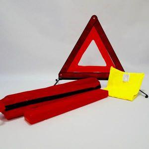 KIT DE SÉCURITÉ Kit triangle de signalisation + gilet de sécurité