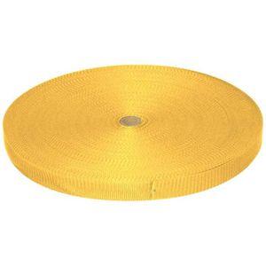 10m pp sangle 1,4mm forte-marron clair uv 25mm de large
