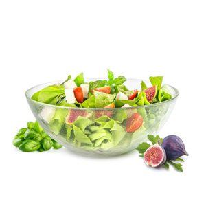Grande ronde circulaire bols en bois dans 3 tailles//décoratifs fruits de salle à manger Salad Bowl