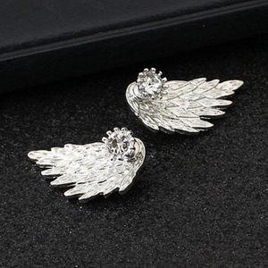 FliyeongCollier Boucles d oreilles Bracelets Larmes d Anges Style Diamant Cristal /Él/égant Femmes Filles Bijoux Ensemble de Pendentif Cristal Collier Boucles D Oreilles Bracelets