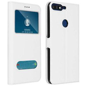 HOUSSE - ÉTUI Housse Honor 7A / Huawei Y6 2018 Etui Clapet 2x Fe