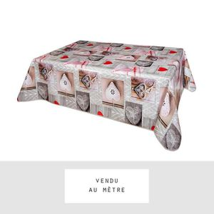 nappe toile ciree au metre achat vente nappe toile ciree au metre pas cher cdiscount. Black Bedroom Furniture Sets. Home Design Ideas