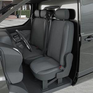 Housse de si/ège Universelle pour Van Transporteur Camion Camionette 2 1 Housse Couverture Couvre Sieges 2 1