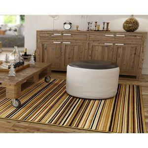 TAPIS Tapis salon BERBER multicolor DEBONSOL - 160x225cm
