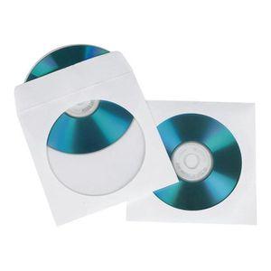 BOITIER POUR COMPOSANT HAMA ENVELOPPES EN PAPIER POUR CD BLANC, 50 PCS
