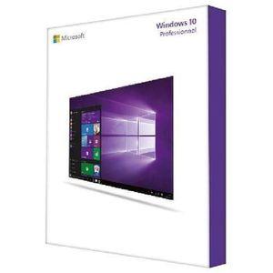 SYSTÈME D'EXPLOITATION Windows 10 Professionnel (version complète) 64 bit