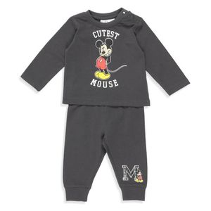 Ensemble de vêtements DISNEY MICKEY Ensemble T-shirt + Pantacourt Fantai ... 78a4bb79159