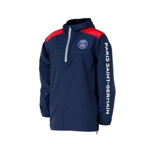 TENUE DE FOOTBALL Coupe-Vent PSG Bleu Junior