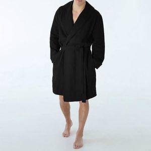 Hommes Chemise de nuit manches courtes 100/% Coton Col En V Dans Grandes Tailles 2xl à 10xl