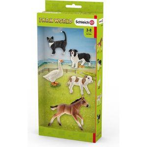 FIGURINE - PERSONNAGE Schleich Figurine 42386 - Animal de la ferme - Ass