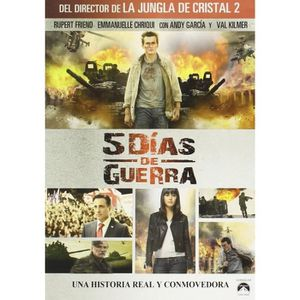 DVD FILM Etat de Guerre (5 Days of War (5 Days of August),