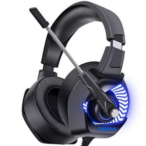 CASQUE AVEC MICROPHONE ONIKUMA Casque Gaming pour PS4, Xbox One, PC, Casq