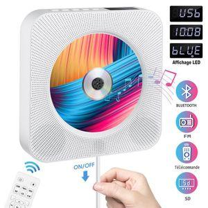 BALADEUR CD - CASSETTE Lecteur CD Lecteur de Musique Portable à Fixation
