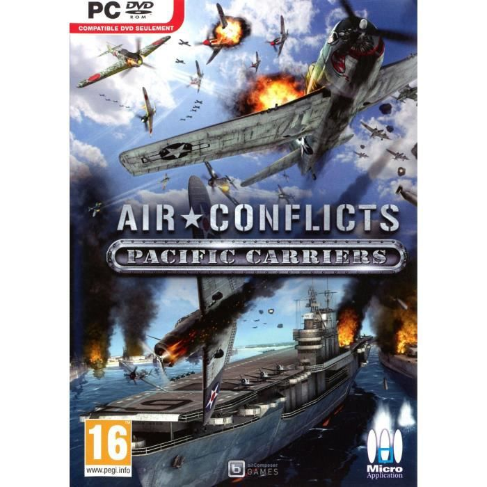 AIR CONFLICTS PACIFIC CARRIERS /Jeu PC