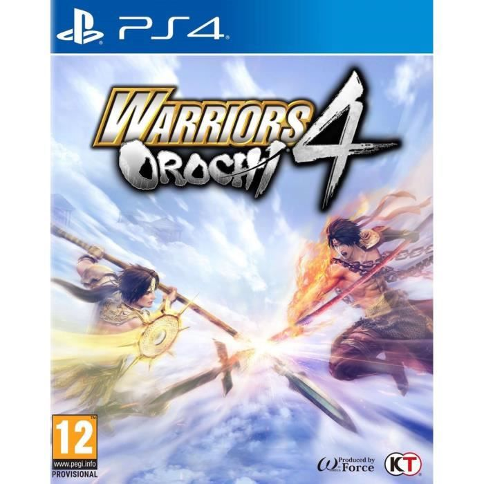 Warriors Orochi 4 Jeu PS4