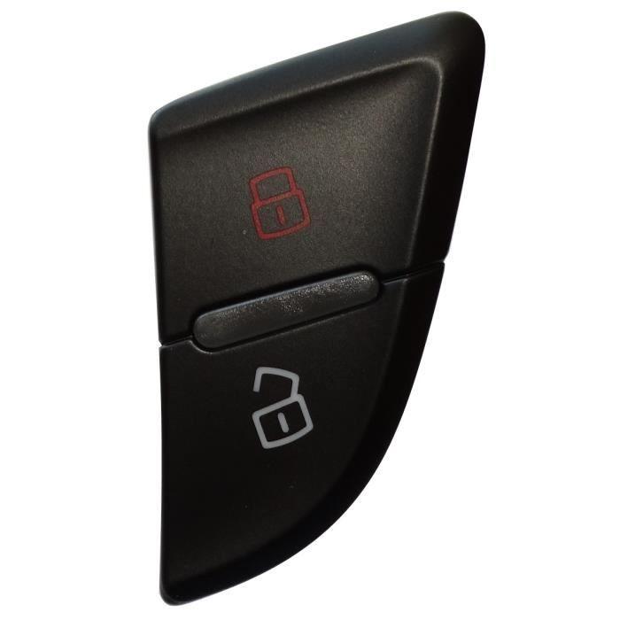 Aerzetix: C16159 Interrupteur bouton fermeture de porte compatible avec 8K0962107A 8KD962107 pour Audi A4 S4 B8 A5 S5 avant gauche