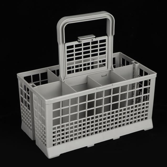 Panier universel pour lave-vaisselle Pièce polyvalente pour lave-vaisselle Boîte de rangement de rechange pour couverts Accessoire