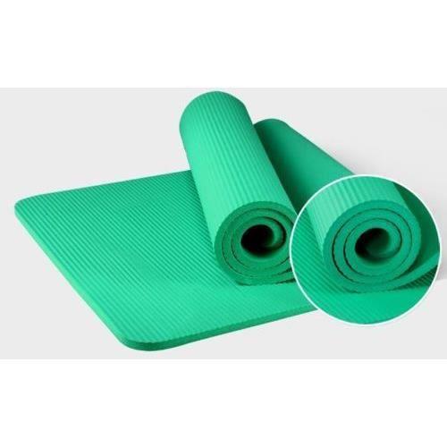 Tapis de yoga portable Tapis de protection en mousse pour tapis de yoga (vert)