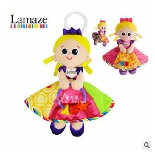 Bébé jouets éducatif hochet peluche douce Poupée princesse poussette multifonctions lit suspendu Bell Mobiles jouets Lamaze