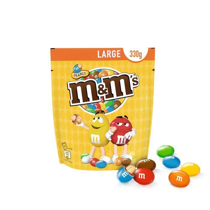 MARS WRIGLEY CONFECTIONERY FRANCE Peanut M&M's - 330 g