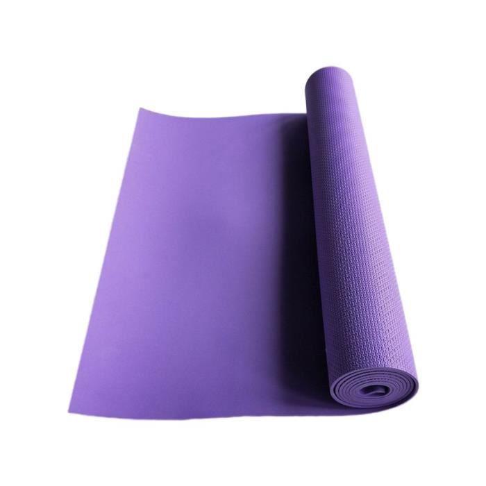 Équipement de forme physique Y98F de couverture de musculation d'exercice de tapis de Yoga d'eva antidérapant ép CC2344