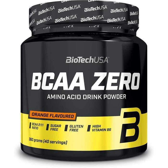 BCAA Zero 360g ORANGE Biotech USA