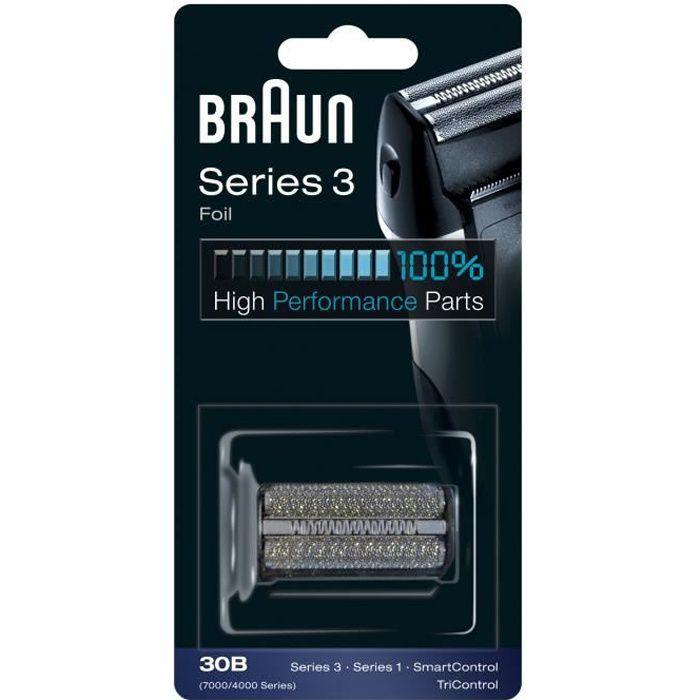 Braun 30B Noire Pièce De Rechange compatible avec les rasoirs Series 3