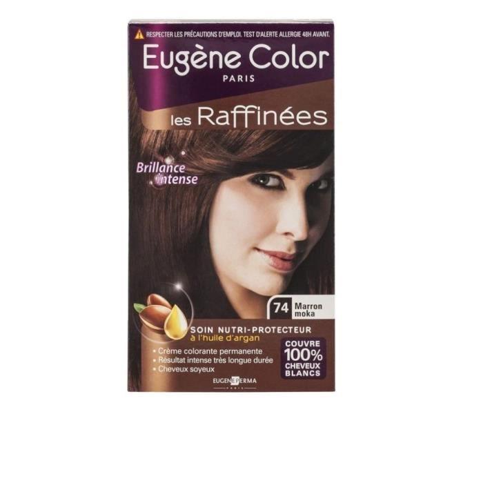 Eugène Color Coloration Marron Moka 74 - La boite de 115ml