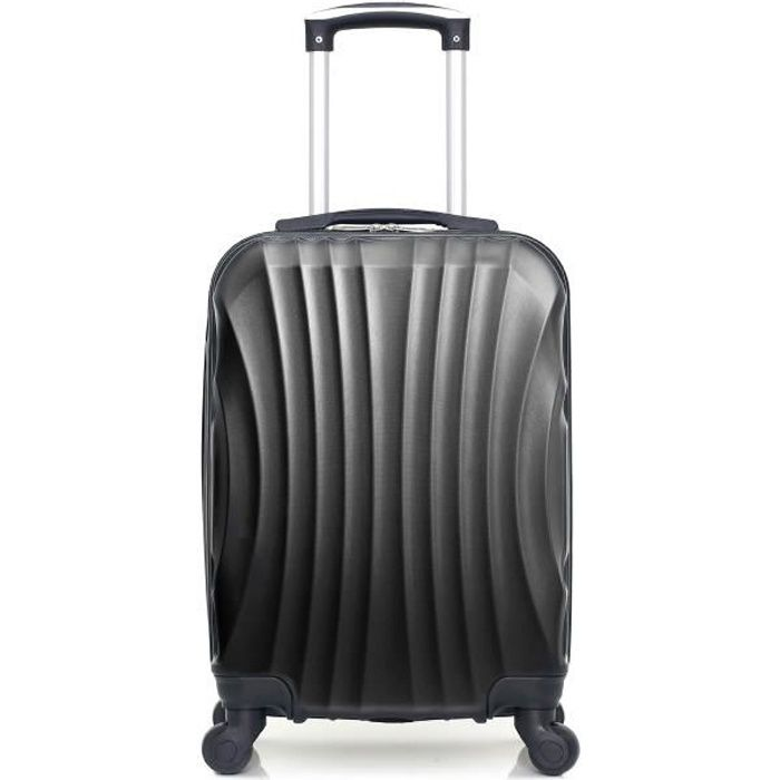 HERO – VALISE CABINE - ABS – 50cm – 4 roues – MOSCOU-A – NOIR