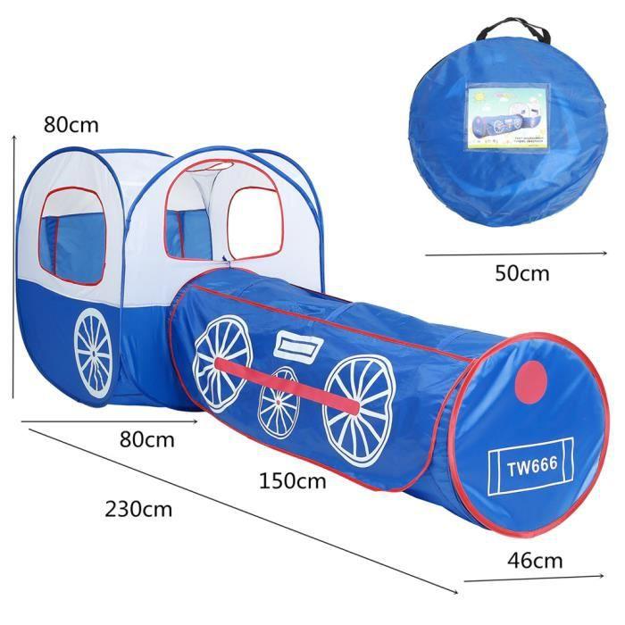 TENTE ACTIVITE - TUNNEL ACTIVITE 1 ensemble de tente de jeu avec tunnel