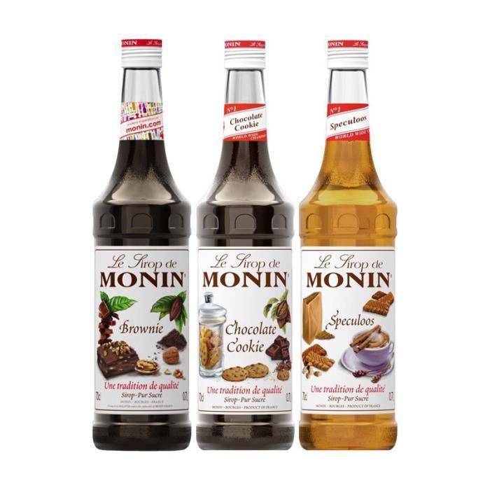 Assortiment Monin Gourmandises (pack 3x70cl)