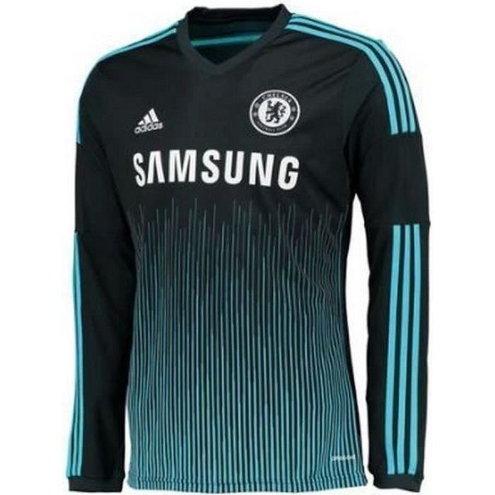 Maillot Homme Adidas Manches Longues Chelsea Third Saison 2014-2015
