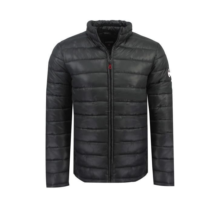 Doudoune Homme Geographical Norway Calender Basic Noir