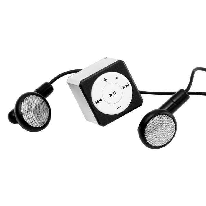 Technaxx Musicman Mini Style TX-52 Lecteur MP3 Argent