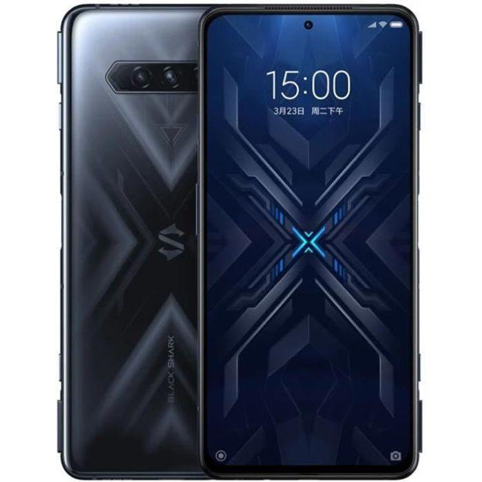 Black Shark 4 Téléphone 6Go 128Go Noir Qualcomm SnapdragonTM 870 LPDDR5 RAM + UFS3.1 144Hz Refresh Rate 120W Hyper Charge 4500mAh