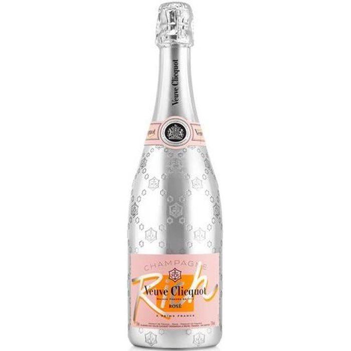 6x Veuve clicquot Rich Rosé - Champagne