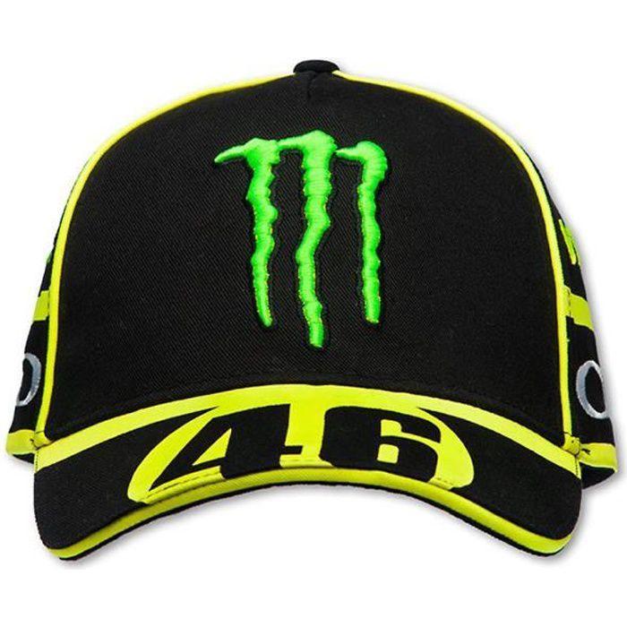 Casquette Valentino Rossi Réplica Monza Monster Energy VR46 Moto GP