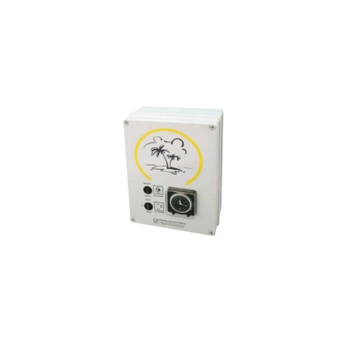 Coffret électrique filtration + éclairage - Filtration + Transfo 300 VA