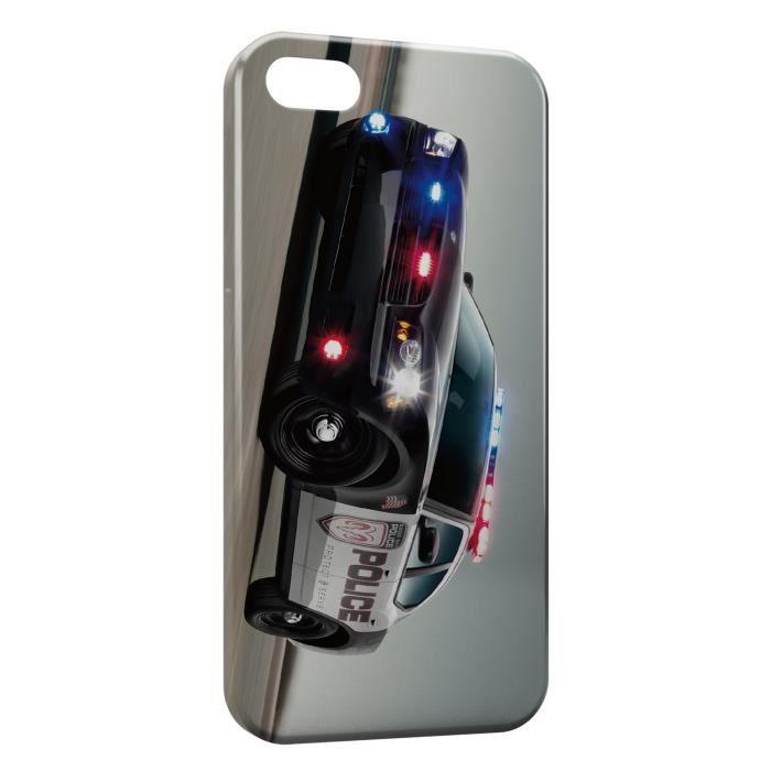 Coque iPhone 6S Plus ( ) Police Dodge voiture 2 - Cdiscount Téléphonie