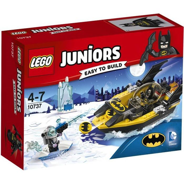 ASSEMBLAGE CONSTRUCTION LEGO® Juniors 10737 Batman Contre Mr. Freeze